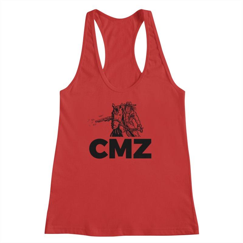 CMZ Women's Racerback Tank by Chimpman-Z Shop