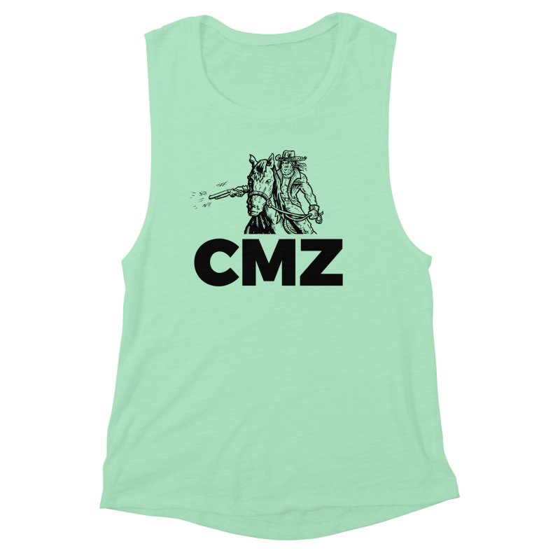 CMZ Women's Muscle Tank by Chimpman-Z Shop