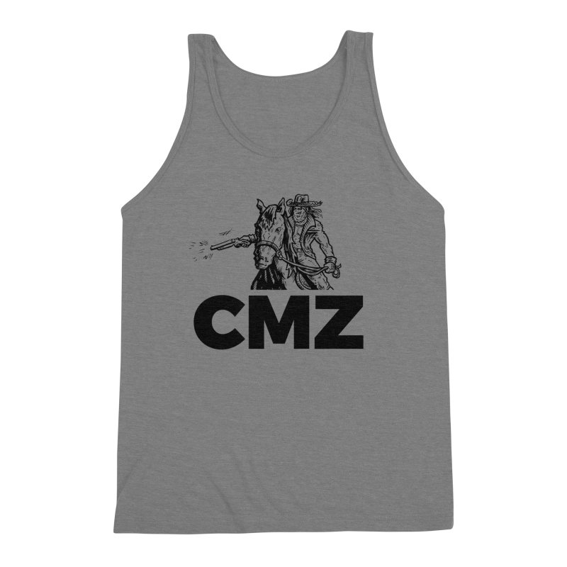 CMZ Men's Triblend Tank by Chimpman-Z Shop