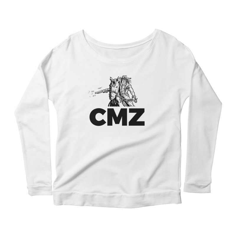 CMZ Women's Scoop Neck Longsleeve T-Shirt by Chimpman-Z Shop