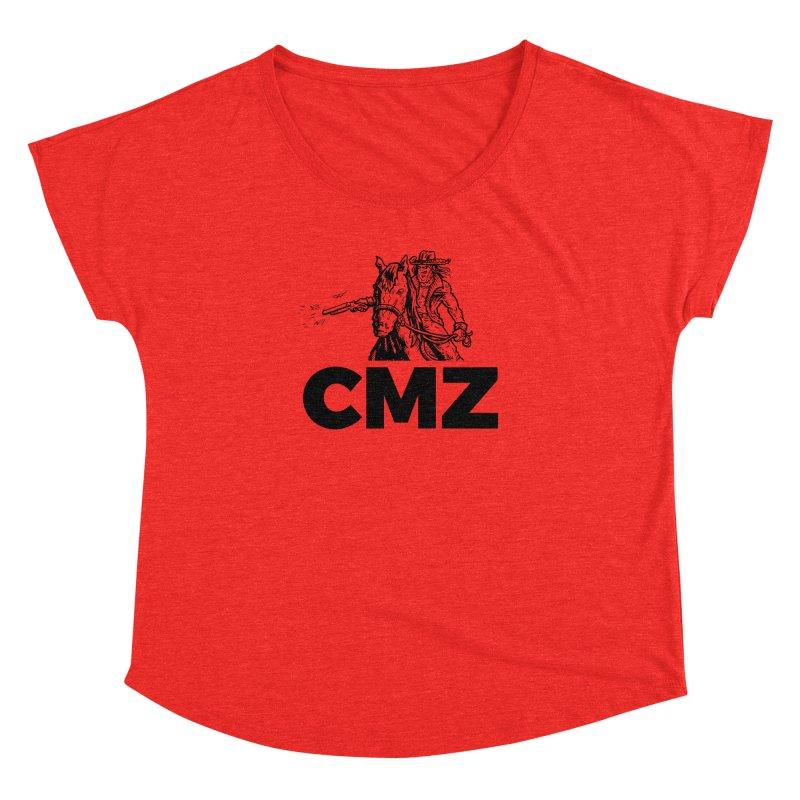 CMZ Women's Scoop Neck by Chimpman-Z Shop