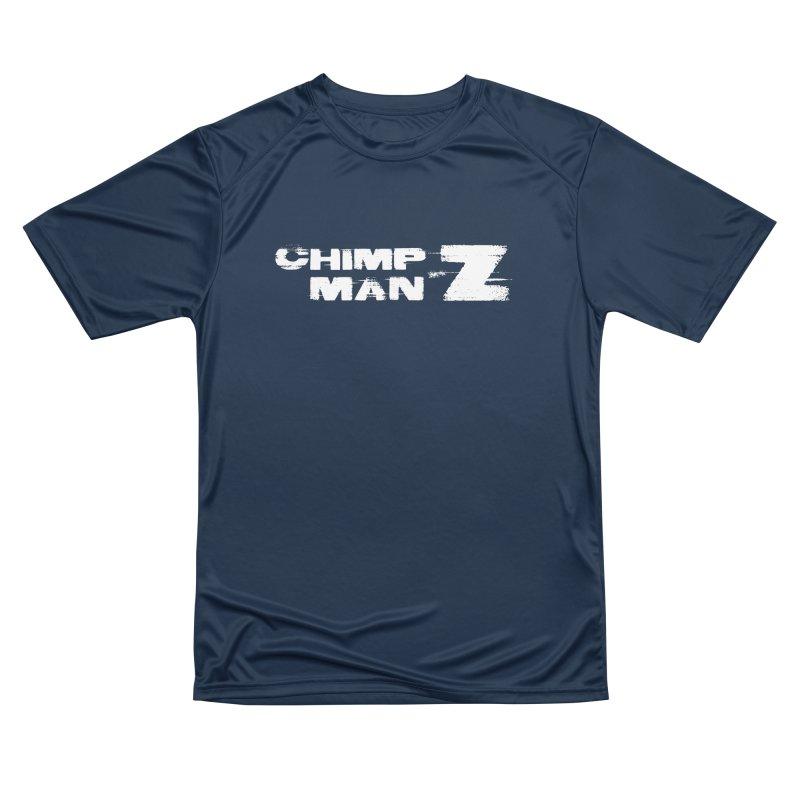 CMZ Grunge Logo Women's Performance Unisex T-Shirt by Chimpman-Z Shop