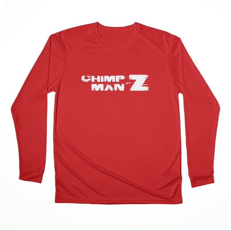CMZ Grunge Logo Men's Performance Longsleeve T-Shirt by Chimpman-Z Shop