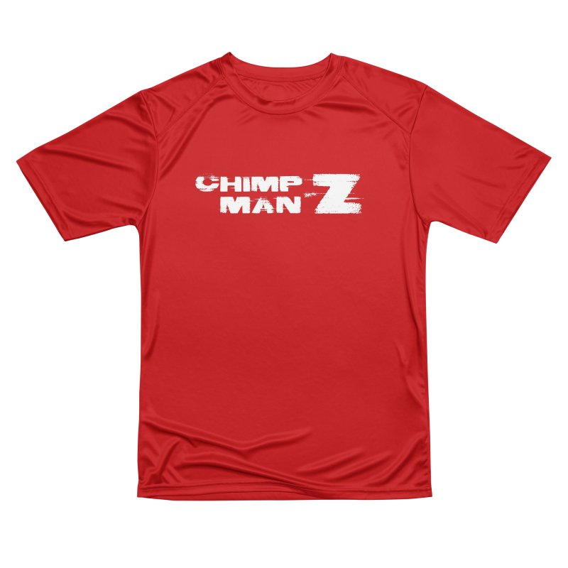 CMZ Grunge Logo Men's Performance T-Shirt by Chimpman-Z Shop