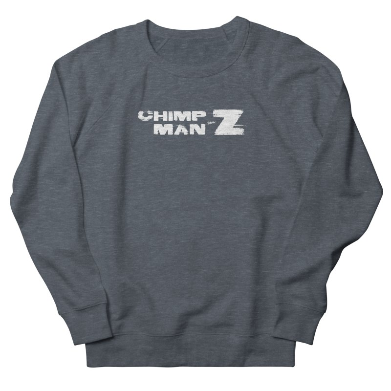 CMZ Grunge Logo Women's French Terry Sweatshirt by Chimpman-Z Shop