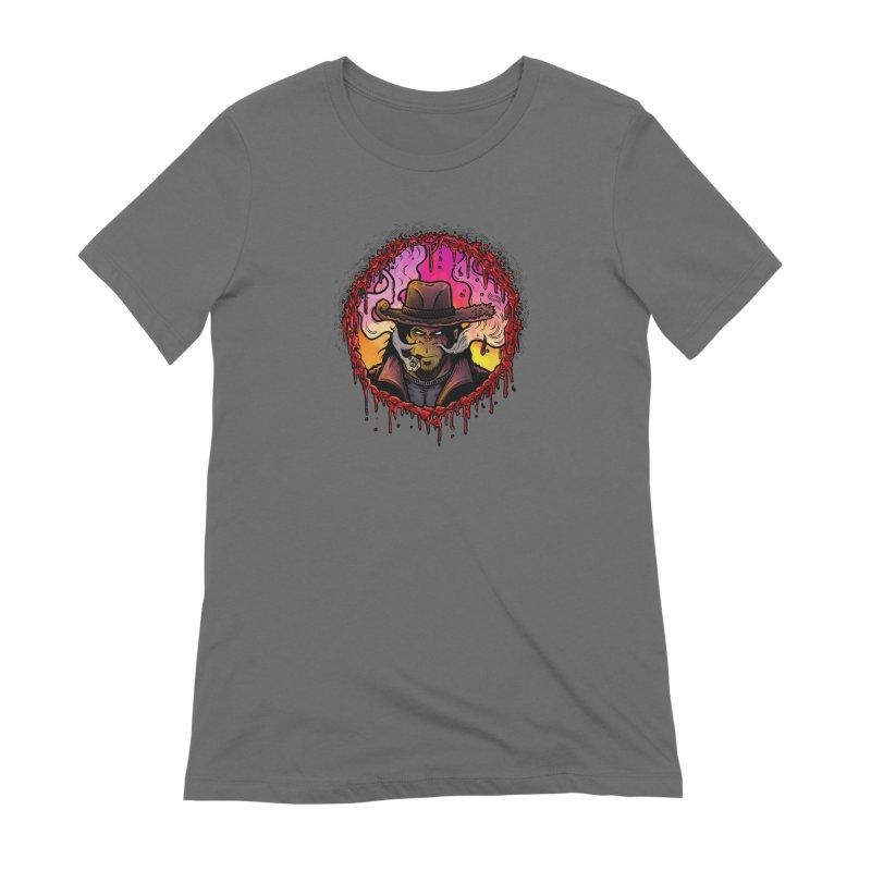 Bullethole Women's Extra Soft T-Shirt by Chimpman-Z Shop