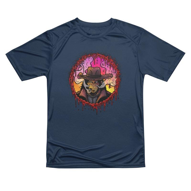 Bullethole Men's Performance T-Shirt by Chimpman-Z Shop