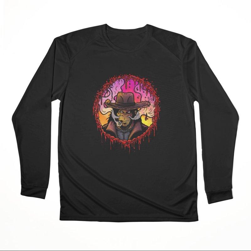 Bullethole Women's Performance Unisex Longsleeve T-Shirt by Chimpman-Z Shop