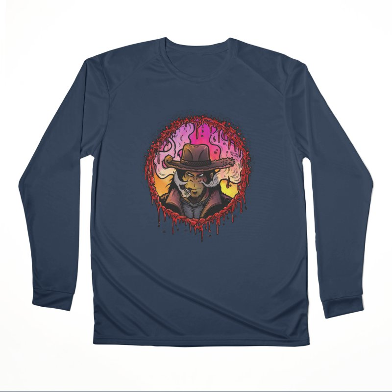 Bullethole Men's Performance Longsleeve T-Shirt by Chimpman-Z Shop