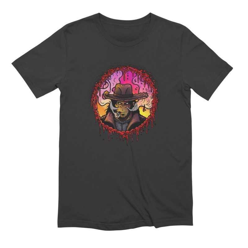 Bullethole Men's Extra Soft T-Shirt by Chimpman-Z Shop
