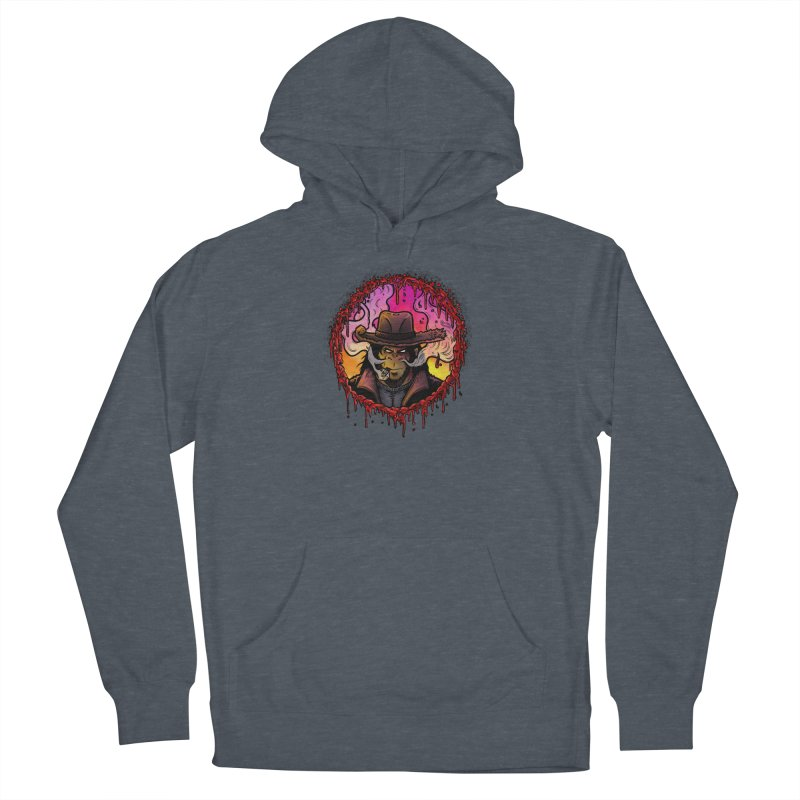 Bullethole Women's French Terry Pullover Hoody by Chimpman-Z Shop
