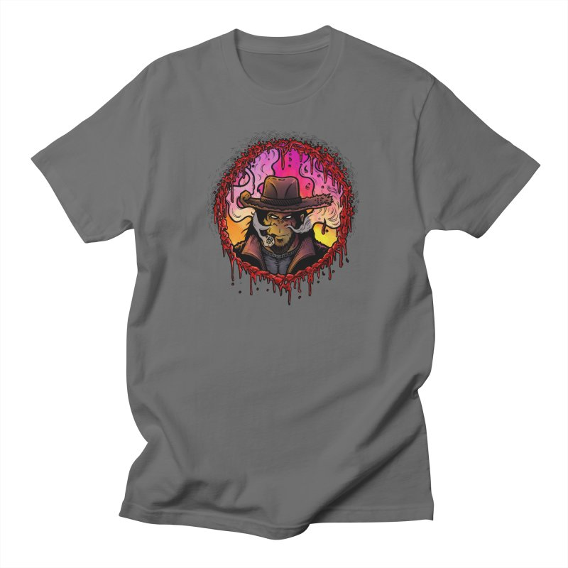 Bullethole Men's T-Shirt by Chimpman-Z Shop