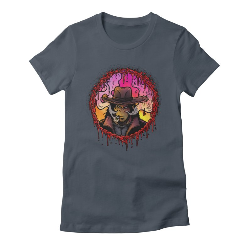 Bullethole Women's T-Shirt by Chimpman-Z Shop