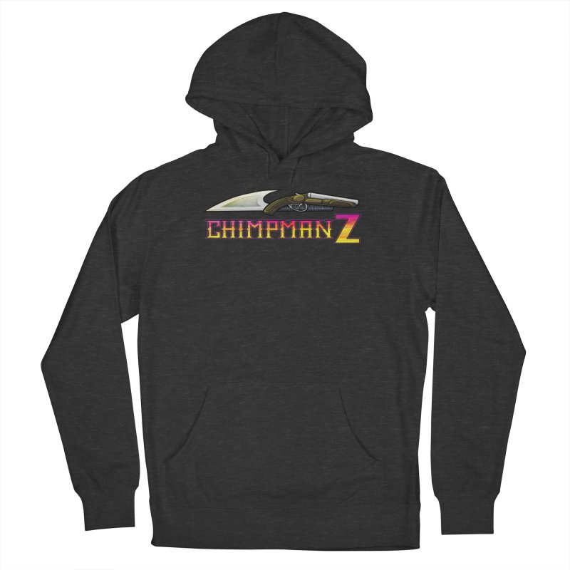 Powder & Steel Women's French Terry Pullover Hoody by Chimpman-Z Shop