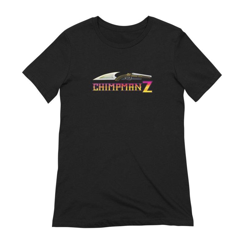 Powder & Steel Women's Extra Soft T-Shirt by Chimpman-Z Shop