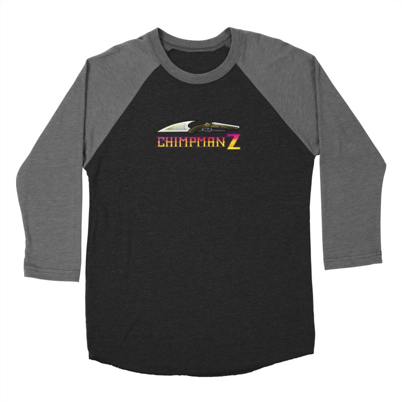 Powder & Steel Women's Baseball Triblend Longsleeve T-Shirt by Chimpman-Z Shop
