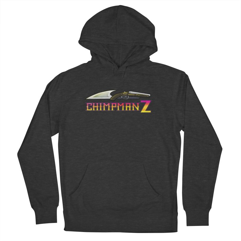 Powder & Steel Men's French Terry Pullover Hoody by Chimpman-Z Shop