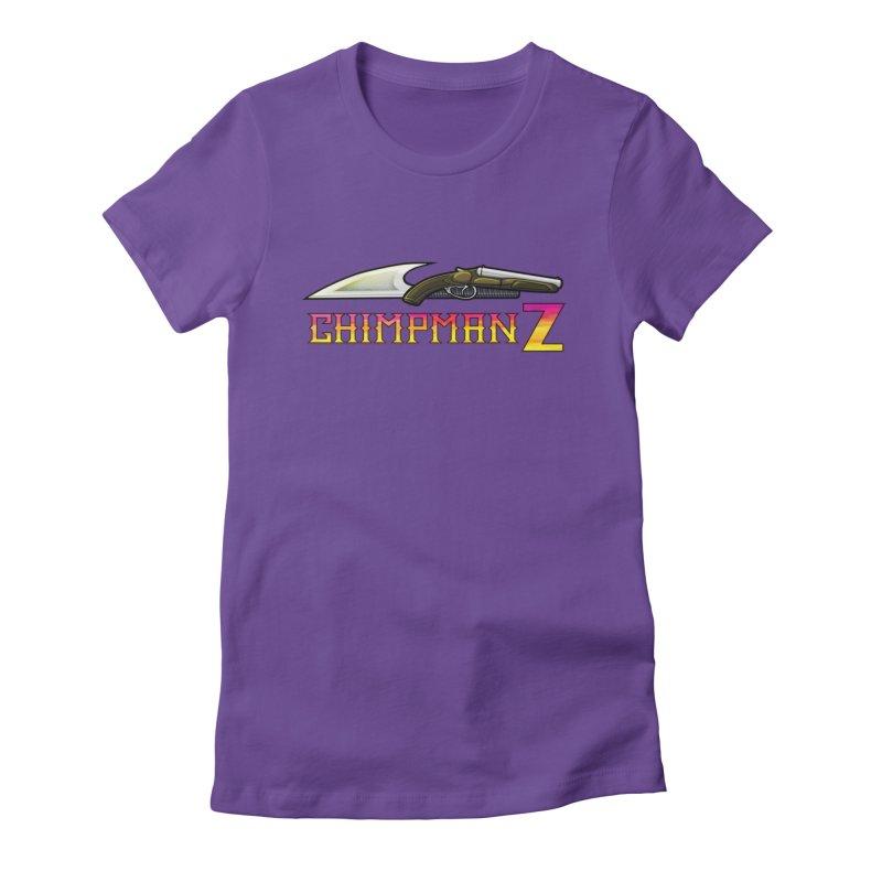 Powder & Steel Women's T-Shirt by Chimpman-Z Shop