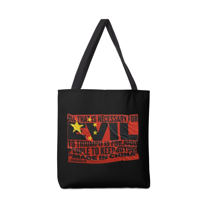 Made in China in Tote Bag by China Sucks™