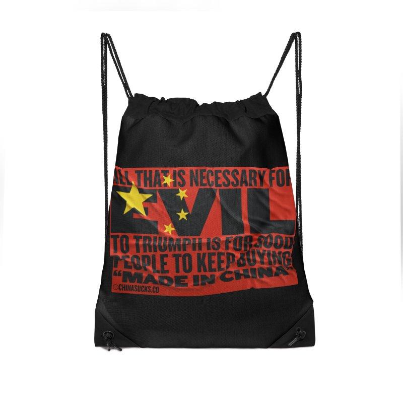 Made in China Accessories Drawstring Bag Bag by China Sucks™