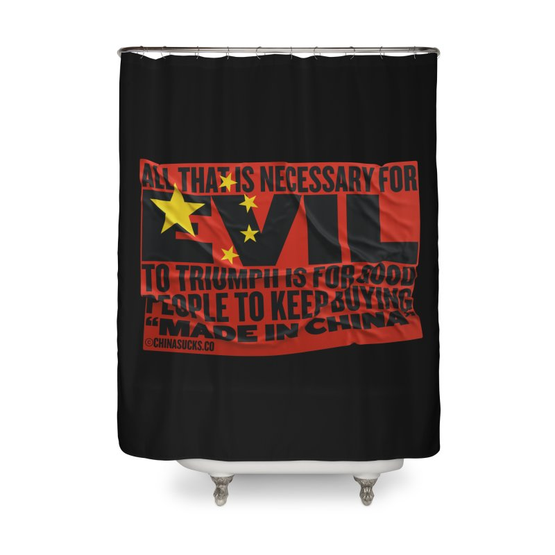 Made in China Home Shower Curtain by China Sucks™