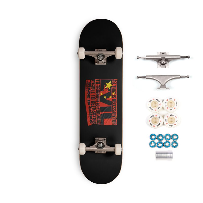 Made in China Accessories Complete - Premium Skateboard by China Sucks™