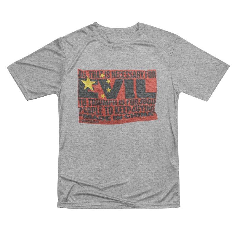 Made in China Women's Performance Unisex T-Shirt by China Sucks™