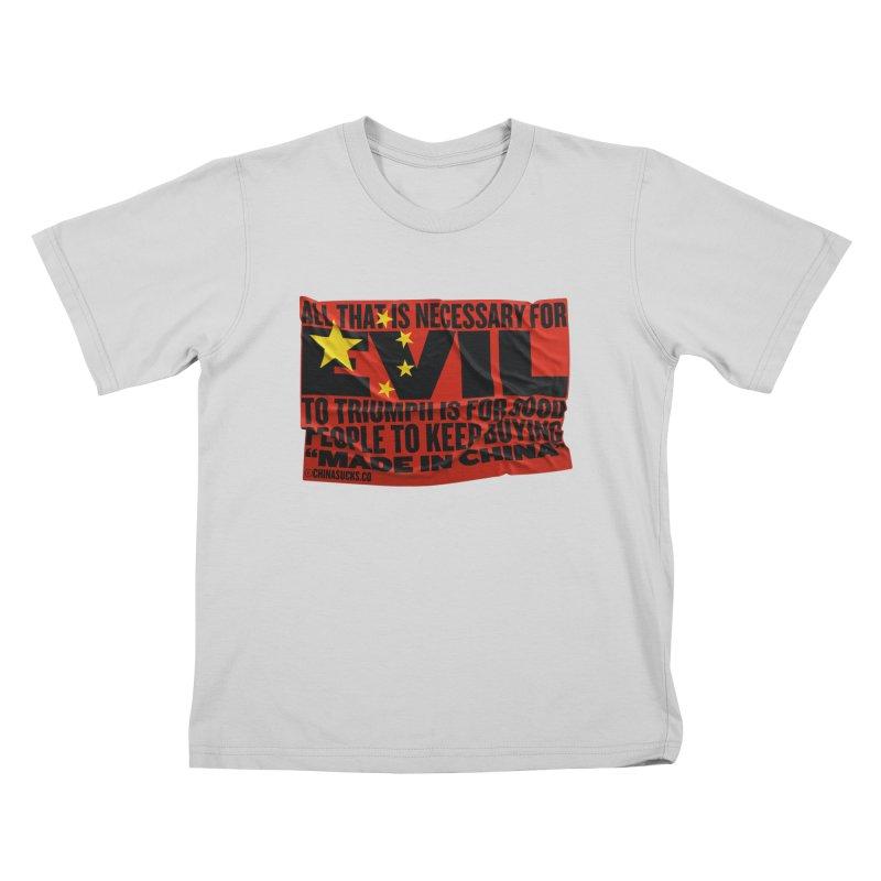 Made in China Kids T-Shirt by China Sucks™