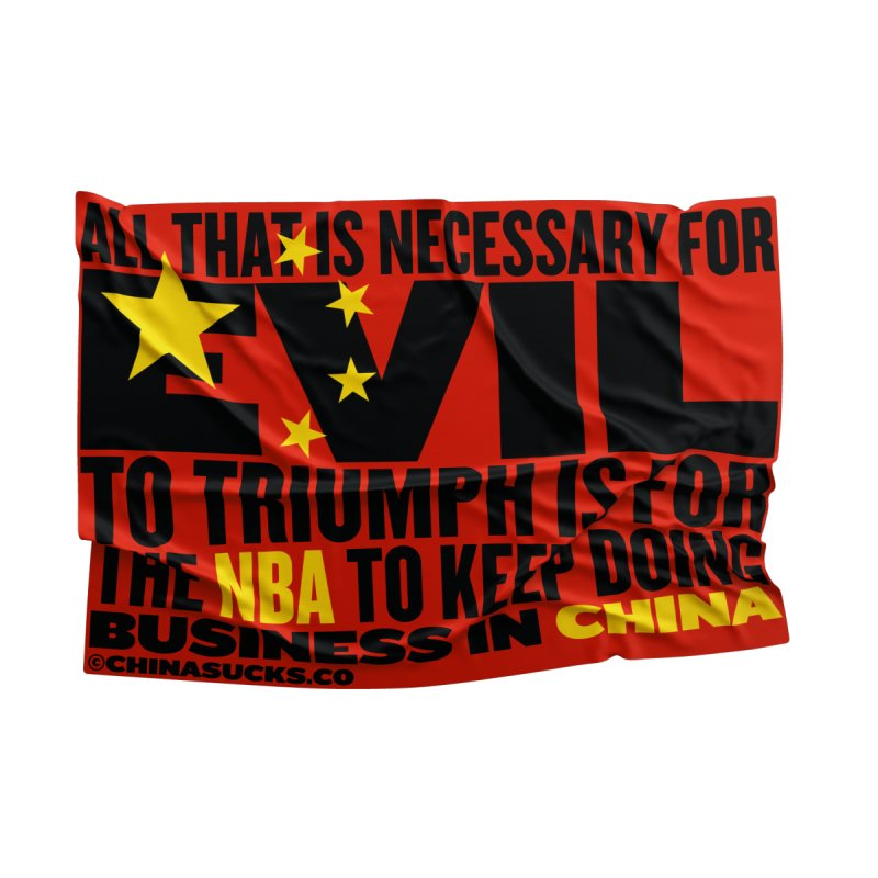 NBA Men's T-Shirt by China Sucks™