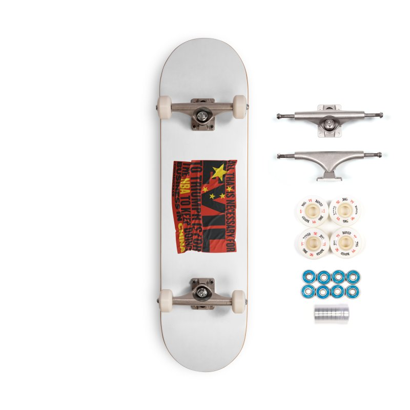 NBA Accessories Complete - Premium Skateboard by China Sucks™
