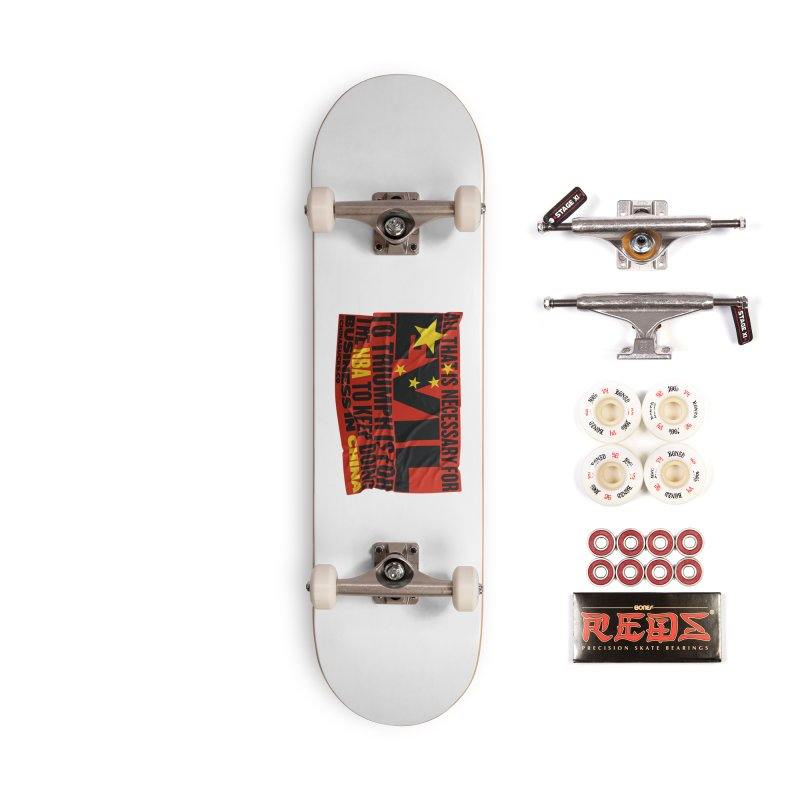 NBA Accessories Complete - Pro Skateboard by China Sucks™