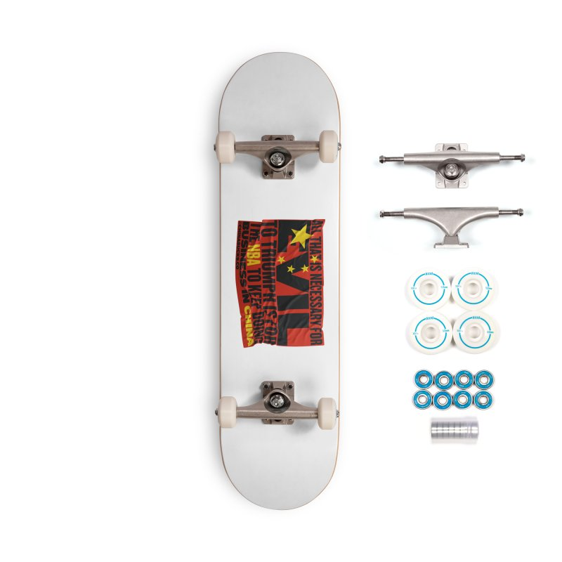 NBA Accessories Complete - Basic Skateboard by China Sucks™