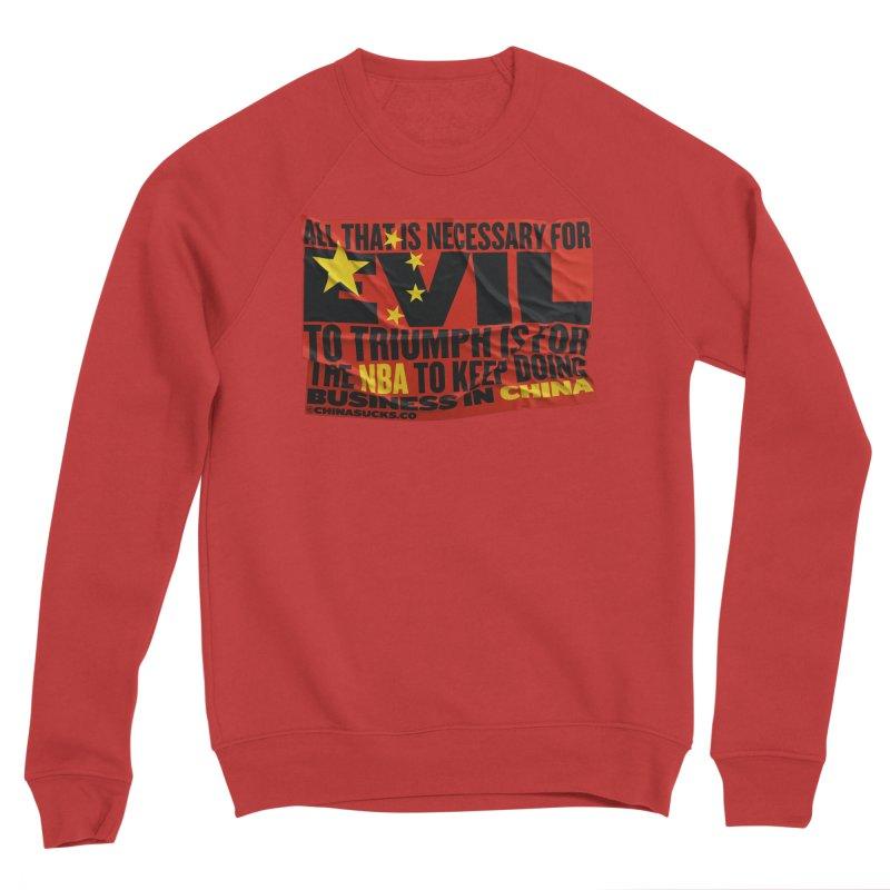 NBA Men's Sponge Fleece Sweatshirt by China Sucks™