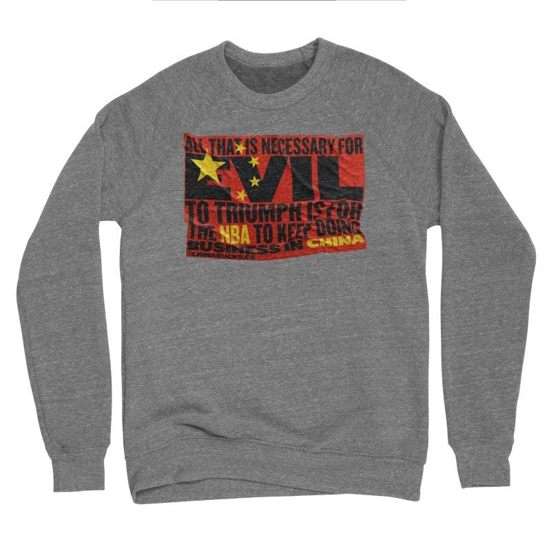 NBA Women's Sponge Fleece Sweatshirt by China Sucks™
