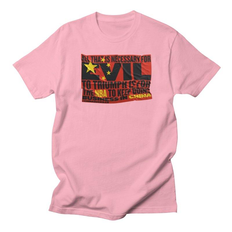 NBA Women's Regular Unisex T-Shirt by China Sucks™