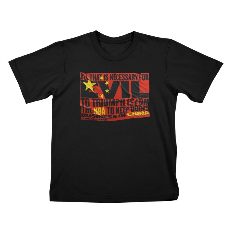 NBA Kids T-Shirt by China Sucks™