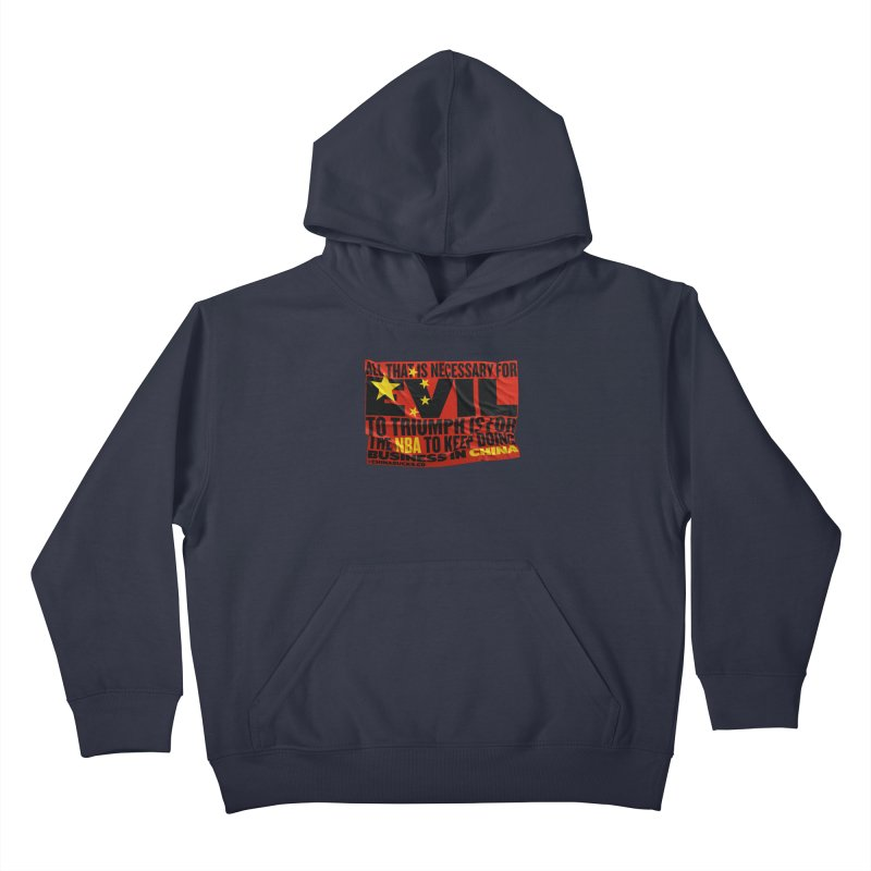 NBA Kids Pullover Hoody by China Sucks™