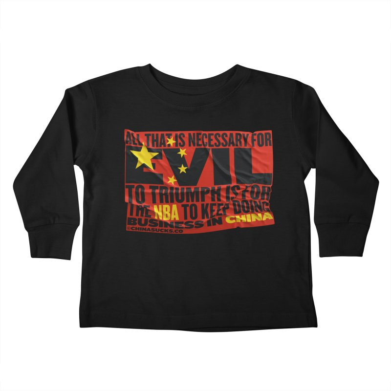 NBA Kids Toddler Longsleeve T-Shirt by China Sucks™