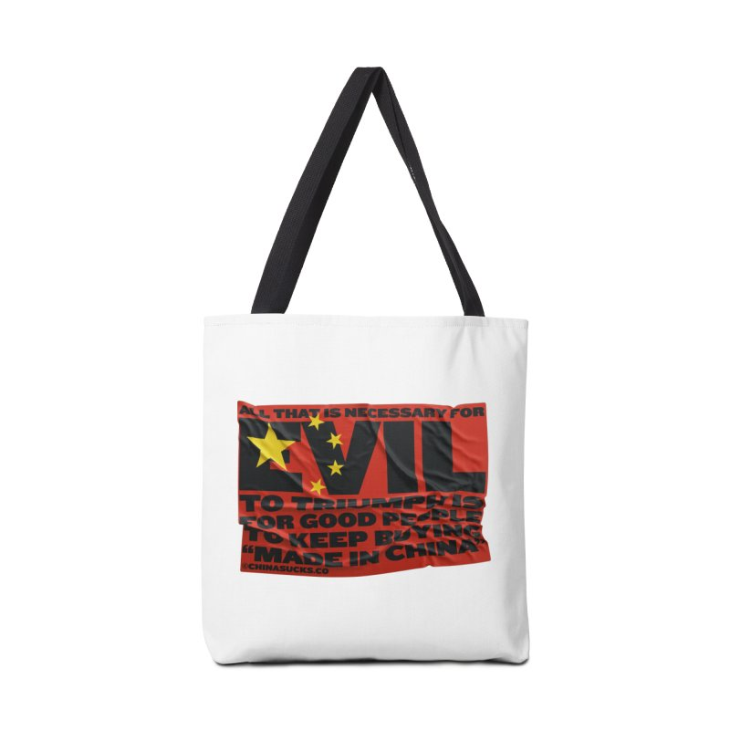 Good People Accessories Tote Bag Bag by China Sucks™