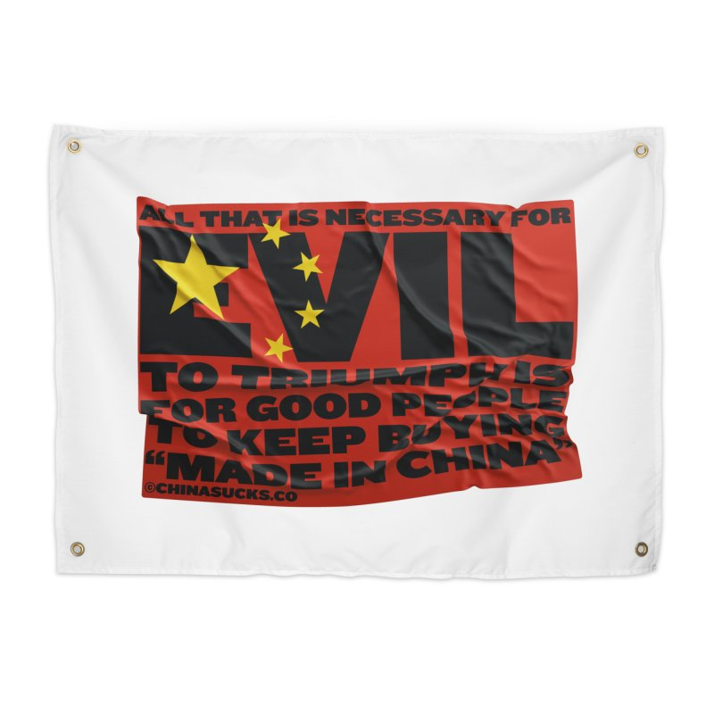 Good People Home Tapestry by China Sucks™