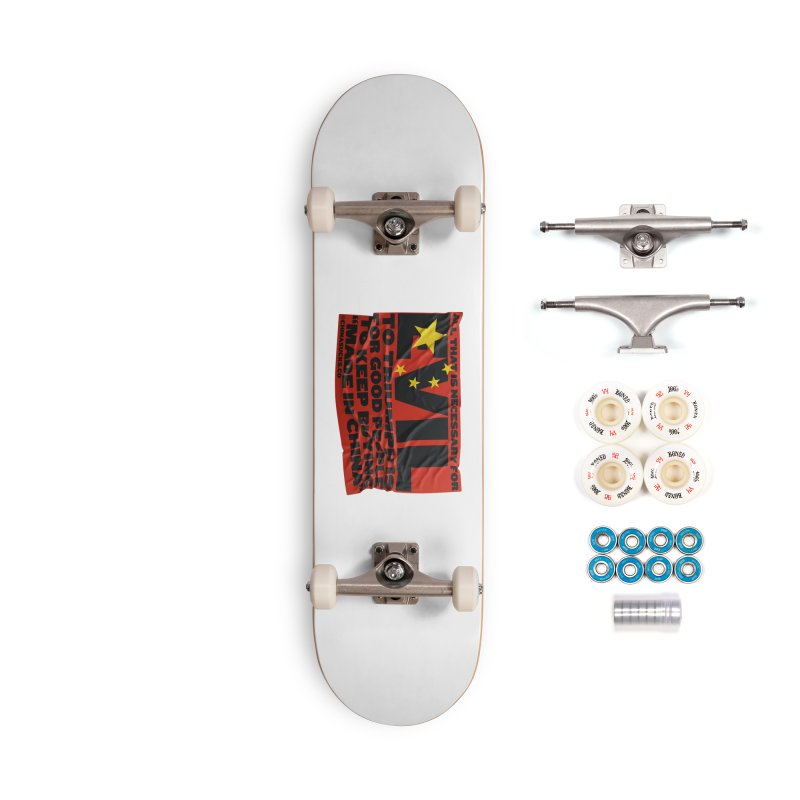 Good People Accessories Complete - Premium Skateboard by China Sucks™