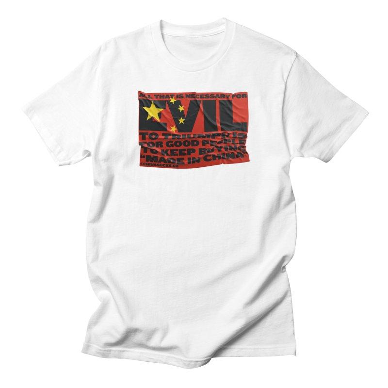 Good People Men's Regular T-Shirt by China Sucks™