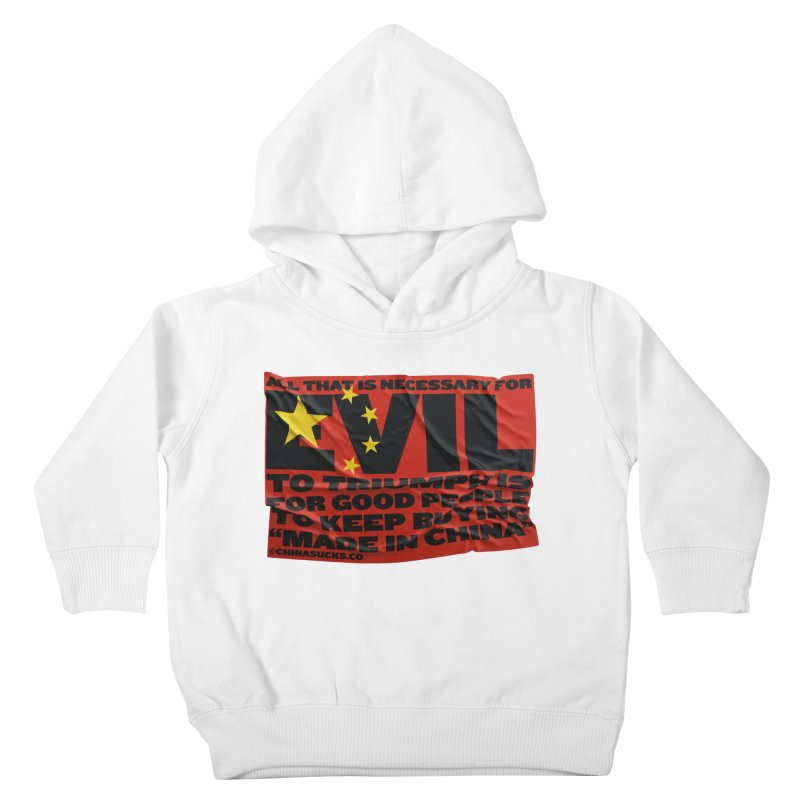 Good People Kids Toddler Pullover Hoody by China Sucks™