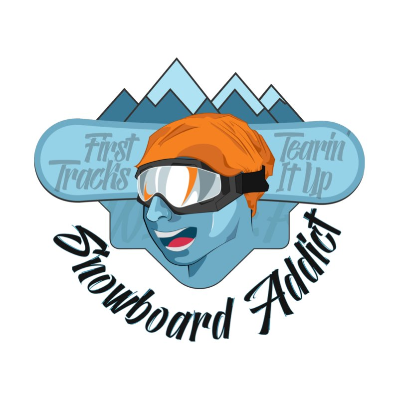 Snowboard Addict None  by Florin Chitic
