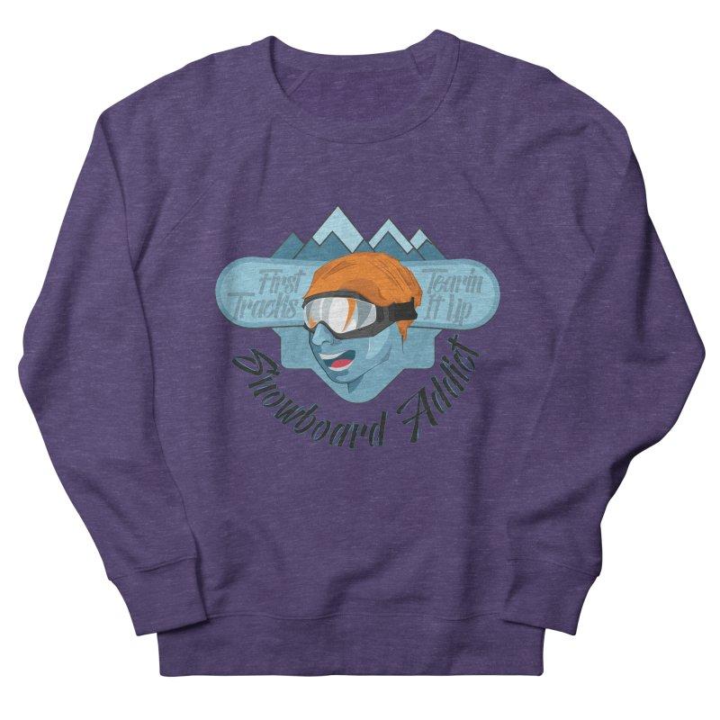 Snowboard Addict Men's Sweatshirt by Florin Chitic