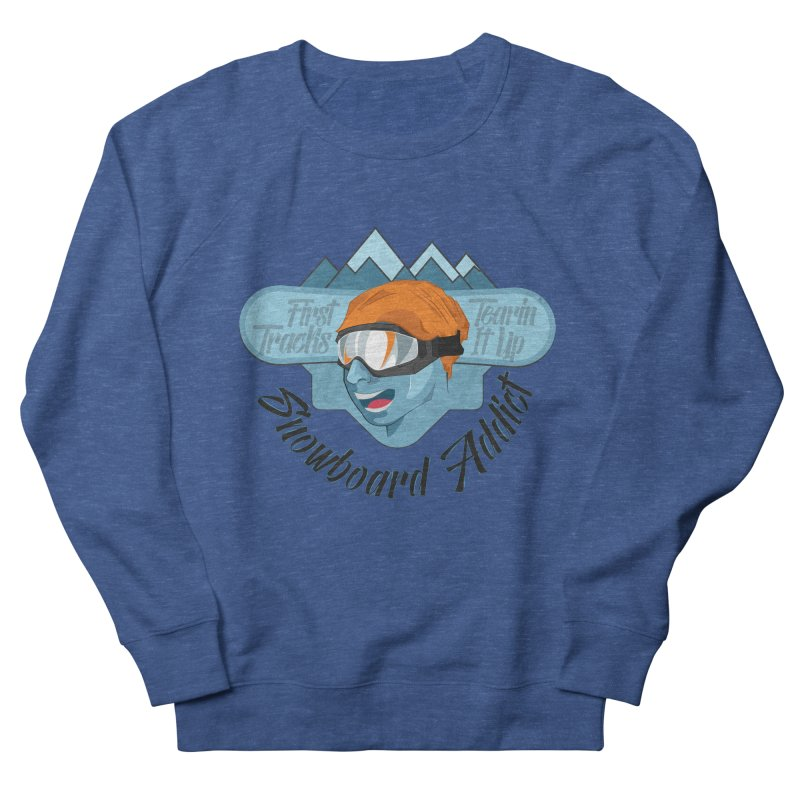 Snowboard Addict Men's Sweatshirt by Florin Chitic