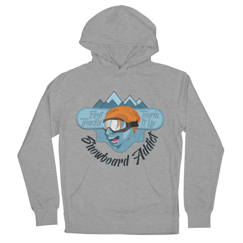 Snowboard Addict Women's Pullover Hoody by Florin Chitic