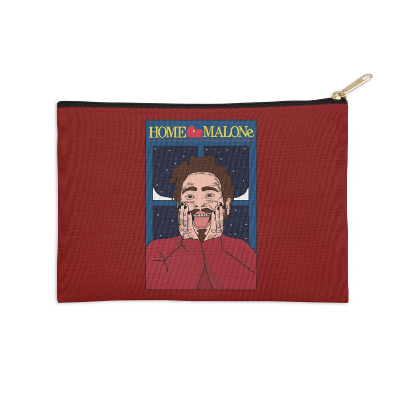 Home Malone Accessories Zip Pouch by Chloe Langer
