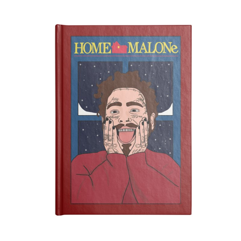 Home Malone Accessories Blank Journal Notebook by Chloe Langer