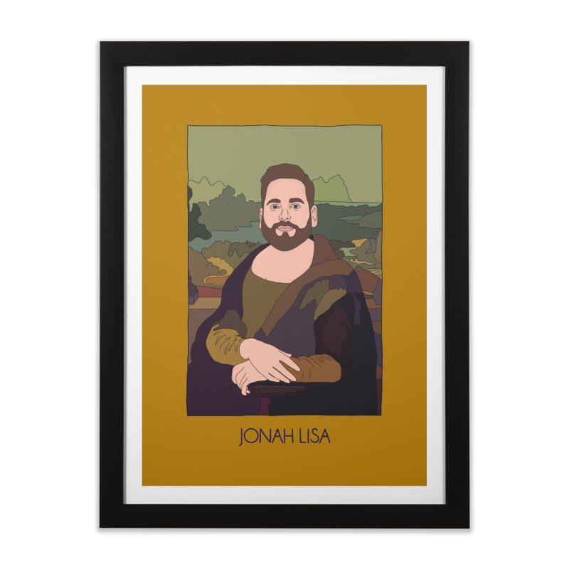 Jonah Lisa Home Framed Fine Art Print by Chloe Langer